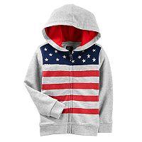 Toddler Boy OshKosh B'gosh® Flag Zip Hoodie
