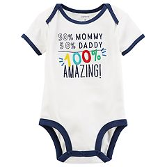 Baby Boy Carter's Embroidered Graphic Bodysuit