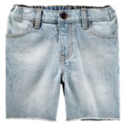 Toddler Boy OshKosh B'gosh® Frayed Denim Shorts