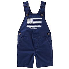 Toddler Boy OshKosh B'gosh® Flag Graphic Shortalls