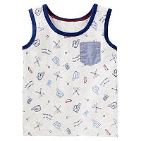 Toddler Boy OshKosh B'gosh® Baseball Tank Top