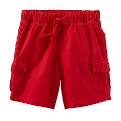 Toddler Boy OshKosh B'gosh® Red Cargo Shorts