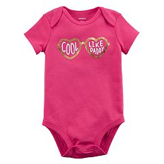Baby Girl Carter's 'Cool Like Daddy' Graphic Bodysuit