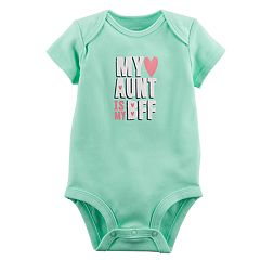Baby Girl Carter's 'My Aunt Is My BFF' Graphic Bodysuit