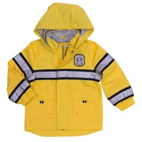 Toddler Boy Carter's Fireman Rain Jacket