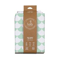 Lolli Living Green Scallops Bed Skirt