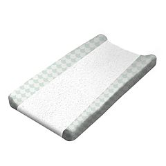 Lolli Living Green Scallops Changing Pad Cover