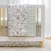 Lolli Living Elle Elephant 4 pc Crib Bedding Set