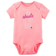 Baby Girl Carter's 'My Abuela Is My BFF' Bodysuit