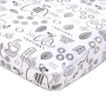 Lolli Living Kayden Elle Elephant Fitted Crib Sheet