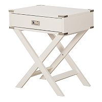 OSP Designs Wellington Suitcase End Table