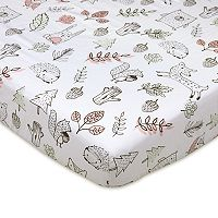 Lolli Living Kayden Woodlands Fitted Crib Sheet