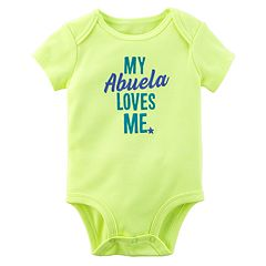 Baby Boy Carter's 'My Abuela Loves Me' Graphic Bodysuit