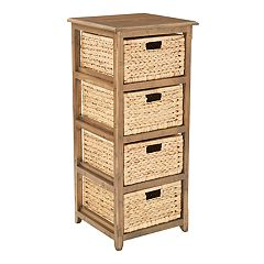OSP Designs Sheridan Tall 4-Drawer Storage Chest