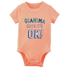 Baby Boy Carter's 'Grandma Says It's OK!' Graphic Bodysuit