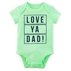 Baby Boy Carter's 'Love Ya Dad!' Graphic Bodysuit