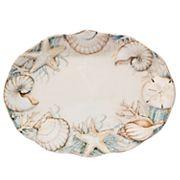Certified International Coastal View Oval Platter