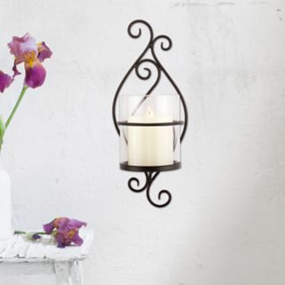 Stonebriar Collection Pillar Candle Holder Wall Decor