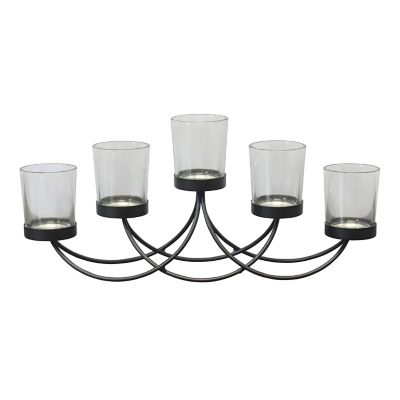 Stonebriar Collection 5-Light Centerpiece Votive Candle Holder