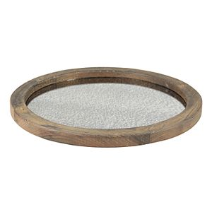 Stonebriar Collection Decorative Rustic Serving Tray