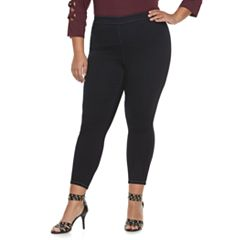 Plus Size Jennifer Lopez Cropped Jeggings