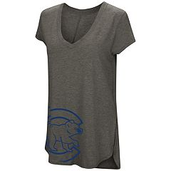 Women's Under Armour Chicago Cubs Corner Graphic Tee