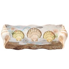 Certified International Coastal View Rectangular Platter