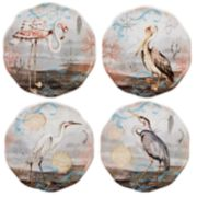 Certified International Coastal View 4-pc. Canape Plate Set