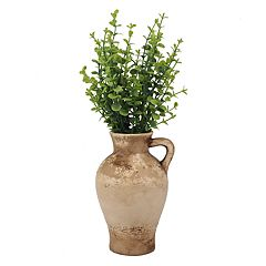 Stonebriar Collection Weathered Ceramic Vase