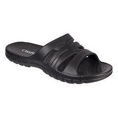 Men's Chaps Soft Sport Slide-On Sandals