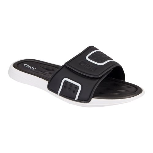 Men's Chaps Perforated ... Slide-On Sandals