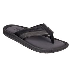 Men's Chaps Memory Foam Thong Sandals