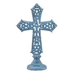 Stonebriar Collection 'Faith' Cross Table Decor