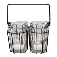 Stonebriar Collection 4-Light Tealight Candle Holder