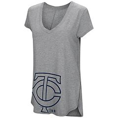 Women's Under Armour Minnesota Twins Pride Hem Graphic Tee