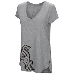 Women's Under Armour Chicago White Sox Pride Hem Graphic Tee