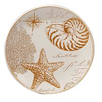 Certified International Coastal Discoveries Round Platter, 13