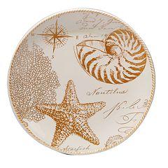 Certified International Coastal Discoveries Round Platter, 13'