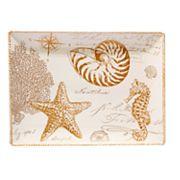 Certified International Coastal Discoveries Rectangular Platter