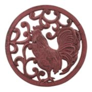 Stonebriar Collection Decorative Rooster Trivet Table Decor