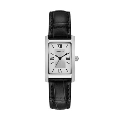 Caravelle Women's Classic Leather Watch - 43L202