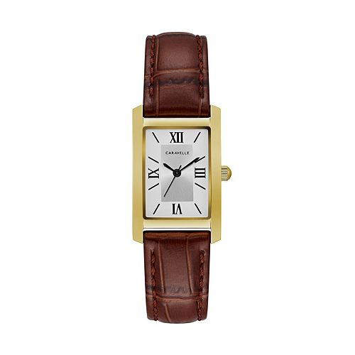 Caravelle Women's Classic Leather Watch - 44L234