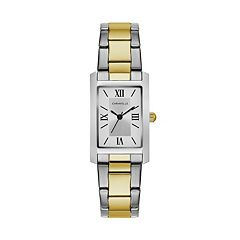 Caravelle Women's Classic Two Tone Stainless Steel Watch - 45L167