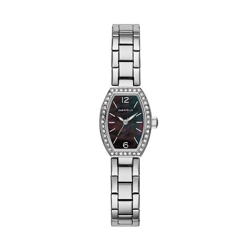 Caravelle Women's Crystal Stainless Steel Watch - 43L204