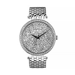 Caravelle Women's Crystal Pave Stainless Steel Watch - 43L206
