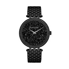 Caravelle Women's Crystal Pave Stainless Steel Watch - 45L171
