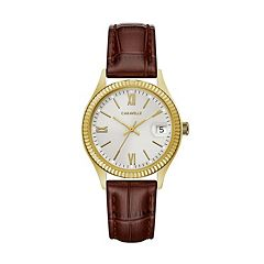 Caravelle Women's Leather Watch - 44M111