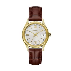 Caravelle by Bulova Women's Leather Watch - 44M111