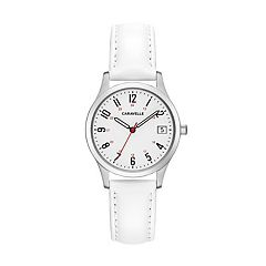 Caravelle Women's Easy Reader Leather Watch - 43M117