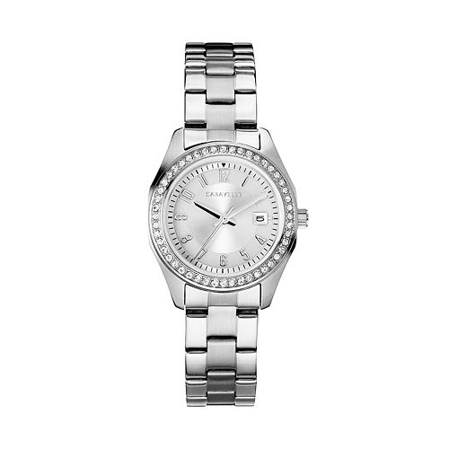 Caravelle Women's Crystal Stainless Steel Watch - 43M120